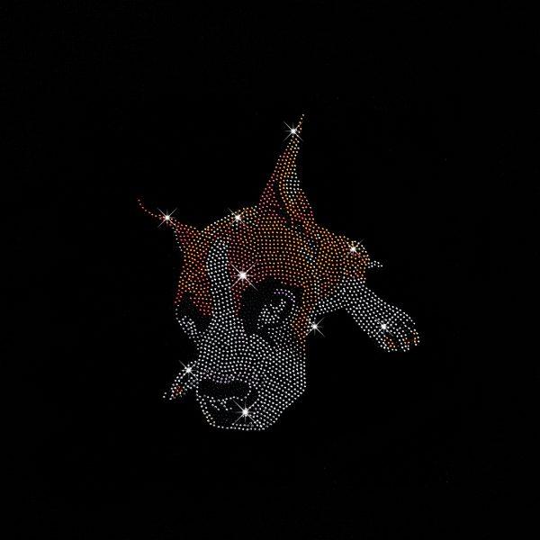 Hot Fix Rhinestuds and Rhinestone dog